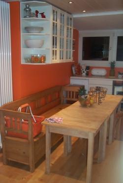 linke Hälfte Küche